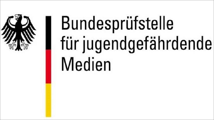 Das Logo der BPjM, die seit 1954 – damals noch als Bundesprüfstelle für jugendgefährdende Schriften – den hiesigen Jugendschutz regelt.