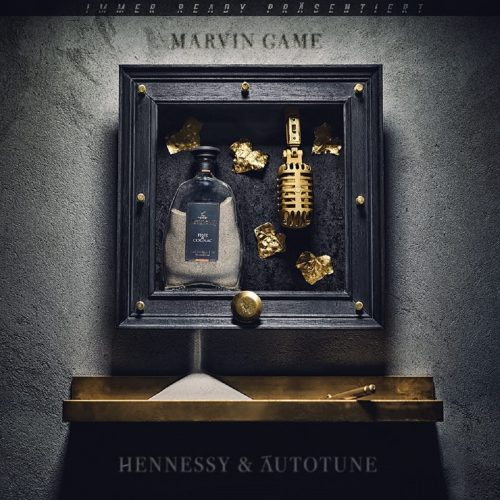Marvin-Game-Hennessy-und-Autotune-Album-Cover