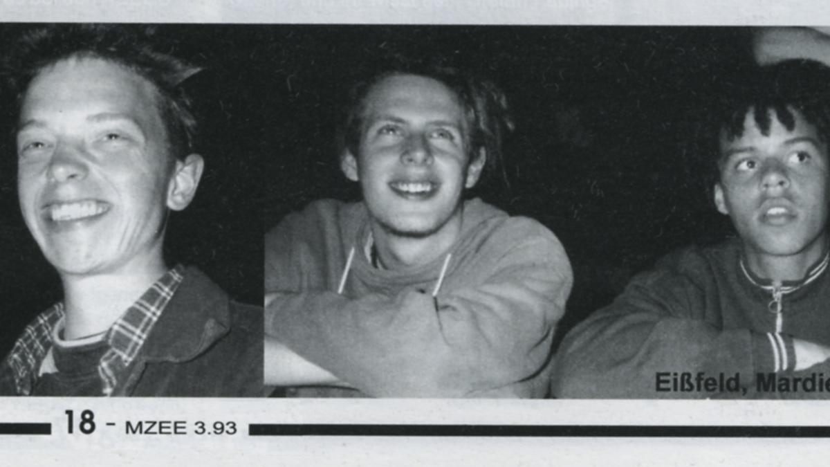 Absolute Beginner - Ausschnitt aus dem MZEE Magazin Juli 1993